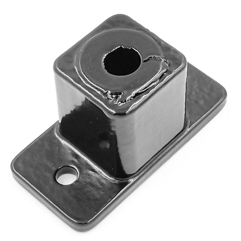 50mm 2 Hole Square Post Base