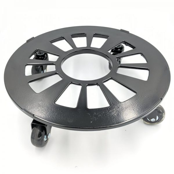 Aluminium 34cm Pot Trolley With Blade Wheels