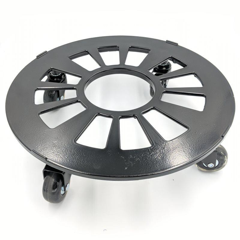 Aluminium 34cm Pot Trolley With Blade Wheels