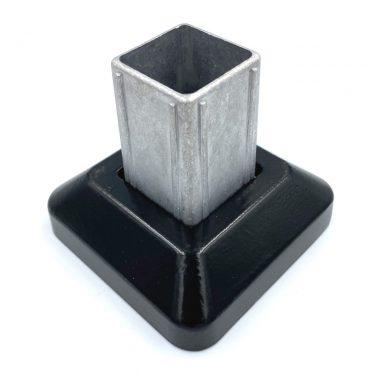 50mm Post Base Cover Black